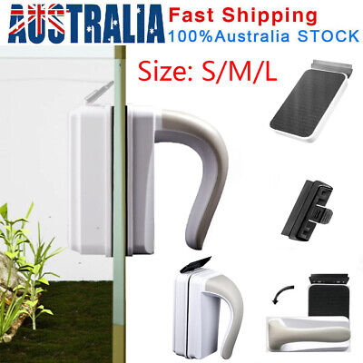 AU11.20 • Buy Magnetic Fish Tank Brush Algae Magnet Aquarium Glass Aquatic Cleaner W/ Scraper