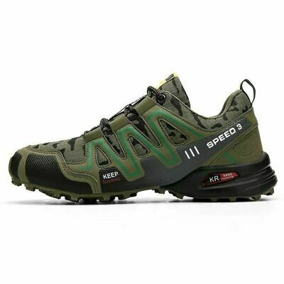 £19.99 • Buy UK Speedcross 3 Men's Hiking Shoes Outdoor Sports Running Shoes Trekking Sneaker