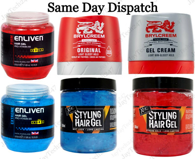 £6.49 • Buy Hair Care Styling Hair Gel Strong Hold Long Lasting Brylcreem XPEL 150 250 500ML