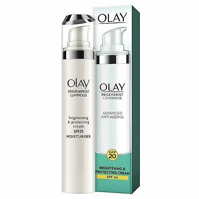AU18.27 • Buy Olay Luminous Brightening And Protecting Day Cream With SPF 20 For Glowing 50ml