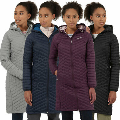 Craghoppers Womens Expolite Long Hooded Parka Jacket Coat • 77.17£