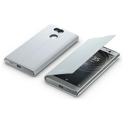 AU63.11 • Buy Official Sony Xperia XA2 Ultra Style Phone Cover Stand Silver