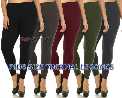 £5.99 • Buy Womens Tummy Control Leggings Thick With Added Support Plus Size