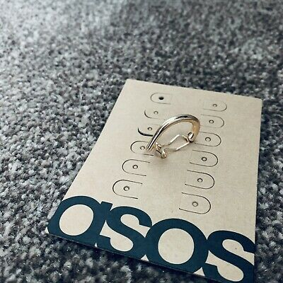 Asos Chunky Ear Cuff Gold Tone Earring Jewellery Brand New • 5.99£