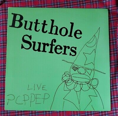 £9.91 • Buy Live PCPPEP EP By Butthole Surfers Vinyl 2000 VG+ VIRUS39 Alternative Tentacles