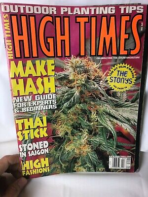 $14.95 • Buy High Times Magazine 2000 Guide To Make Hash -Thai Stick -Stoned In Saigon ++