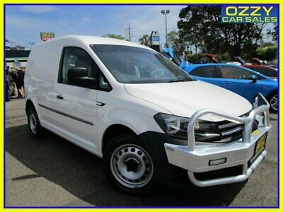 AU18950 • Buy 2017 Volkswagen Caddy 2K MY17 SWB Trendline TSI220 White Wagon