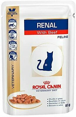 Royal Canin Renal Feline Beef Cat Food, 85 G-12 X 85 G • 21.93£