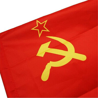 USSR Soviet Union Communist Russian Russia-Socialist Red National Beauty   Flag • 3.99£