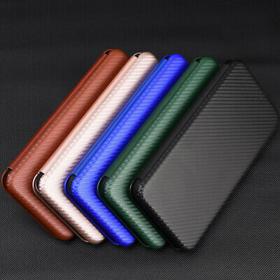 AU15.10 • Buy Carbon Fiber Leather Flip Wallet Stand Case Cover For Samsung Galaxy Z Fold2 5G