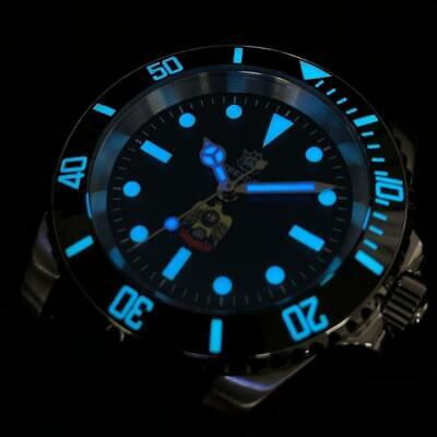 $ CDN247.42 • Buy Custom SUB 200m Diver Watch High Lumed Dial Seiko Japan Automatic Movement