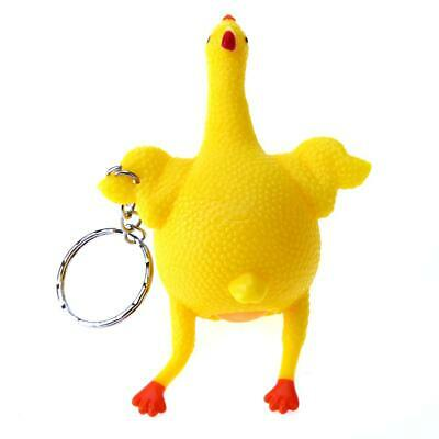 Tricky Funny Gadgets Toys Squeeze Chicken Egg Laying Hens Stress Relief • 4.24£