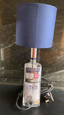 Martin Millers Gin Bottle 240v Bedside Lamp With Shade • 35£