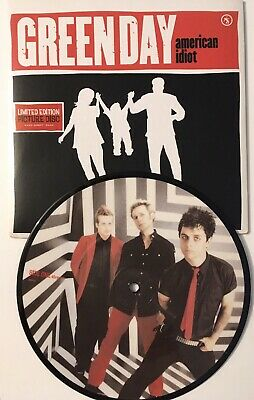 Green Day American Idiot 7  Picture Disc Like New • 25£