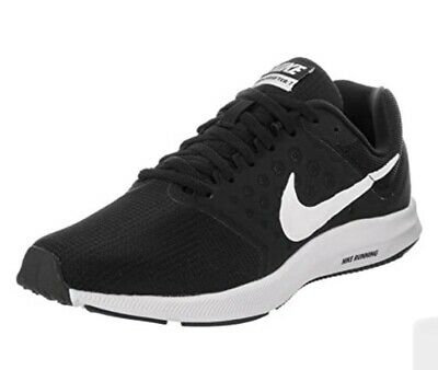 Nike Downshifter 7 Trainers  New UK 5.5 Black Running Gym School Sports Shoes • 35£