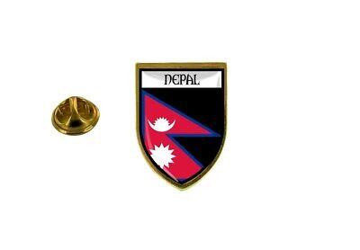 Pins Pin Badge Pin's Souvenir City Flag Country Coat Of Arms Nepal Nepalese • 4.58£