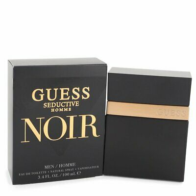 Guess Seductive Homme Noir By Guess 3.4 Oz EDT Cologne Spray For Men New In Box • 20.77£