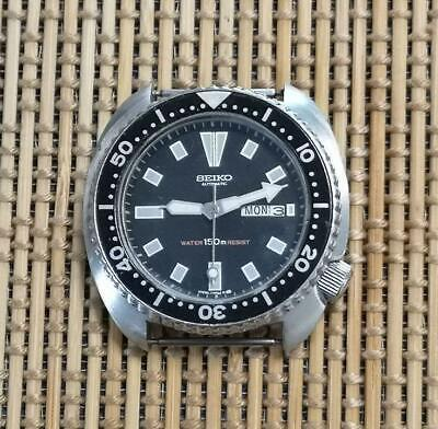 $ CDN638.84 • Buy Seiko Vintage Day Date 3rd Diver Used Automatic Mens Watch Authentic Working