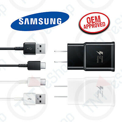$ CDN9.07 • Buy Original Samsung Galaxy S8 S9 Plus + Note 8 Fast Charge Adapter Type-C Cable