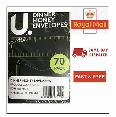 £3.15 • Buy Brown Envelopes 98mm X 67mm For Dinner Money Wages Coin Beads & Seeds