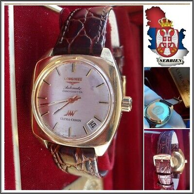 £1597.32 • Buy LONGINES @ ULTRA-CHRON Automatic Watch C^1965 Cal.431 Solid 18K.!!!