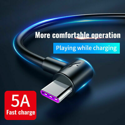 Fast Charger Type C USB Data Cable Lead For Samsung Galaxy S20, S10, S9, S8 + • 3.29£