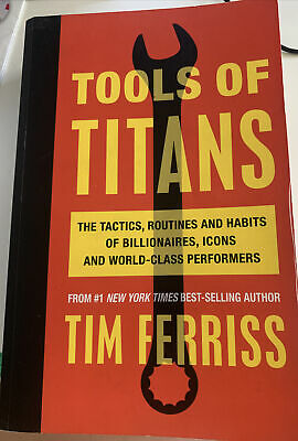 AU15 • Buy Tools Of Titans: The Tactics, Routines, And Habits Of Billionaires, Icons,...