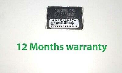 £23.55 • Buy Samsung K9GAG08U0E NAND Chip IC - UE32D5520 UE37D5520 PROGRAMMED - NEW, TESTED