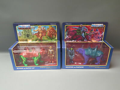 $89.99 • Buy ReAction Super7 Masters Of The Universe He-Man/ Battle Cat & Skeletor/ Panthor