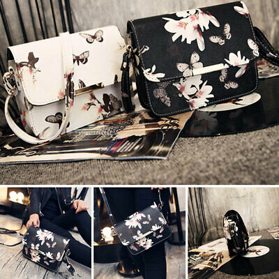 AU13.94 • Buy Women Floral Accessories Artificial Leather Travel Portable Ladies Shoulder Bag