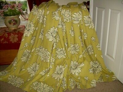 Sandown & Bourne Ring Top Curtains. Modern Design.W65  L54  Lined. Nice/clean. • 28£