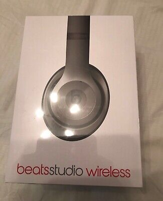 Beats By Dr. Dre Studio 2.0 Wireless Headband Wireless Headphones - Titanium • 190£