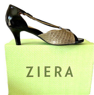 AU85.50 • Buy ZIERA CHIC & STUNNING 'SABEEN' PATENT LEATHER HEELS Sz 40W Worn Twice RRP$249.95