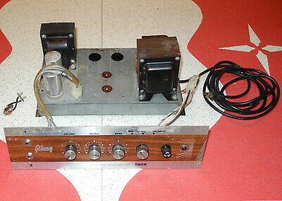 $ CDN196.64 • Buy Vintage Gibson Thor 50 Watt Tube Bass Guitar Amp Chassis Project!