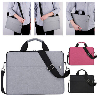 15.6 Inch Laptop PC Waterproof Shoulder Bag Carrying Soft Notebook Case Cover UK • 9.99£