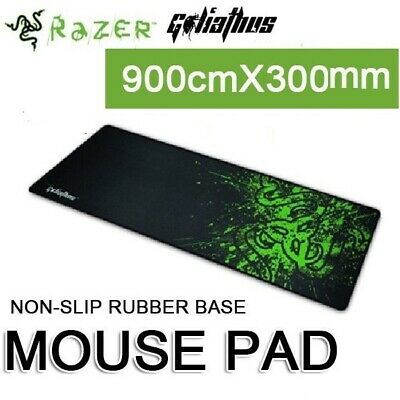 AU14.75 • Buy Gamer Mouse Pad Computer Gaming Mousepad Rubber Keyboard Mouse Mat For PC Laptop