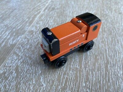 Wooden Thomas And Friends Trains. RARE Rusty Diesel Engine Brio Compatible • 13£