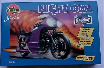 £15.76 • Buy Airfix Junior  Shadow Fighters  Night Owl   #04900   Scale No    New In Box