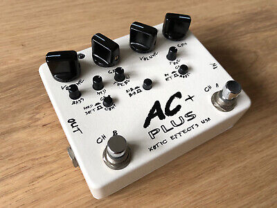 Xotic Effects AC Plus Dual Overdrive Distortion Pedal • 120£