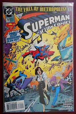 Superman In Action Comics #700 (1994) DC Signed 7907 Of 10000 • 9£