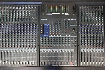 YAMAHA GA24/12 - 24-channel Mixing Console W/ Flight Case / WORKS WELL  • 299£