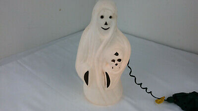 $ CDN52.86 • Buy Vintage Ghost With Skull Halloween Lighted Blow Mold