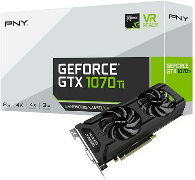 $ CDN766.93 • Buy PNY Technologies GeForce GTX 1070 Ti Dual Fan Design Graphic Card (Unopened Box)