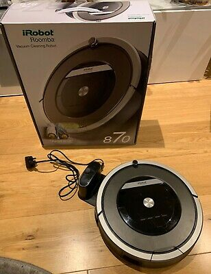 View Details IRobot Roomba 870 Vacuum Cleaning Robot, Black, Good Condition • 199.00£