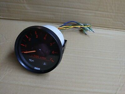 AU152.93 • Buy Yamaha Outboard Tachometer RPM Gauge 2 And 4 Stroke Mid 90' To Mid 00' All HP