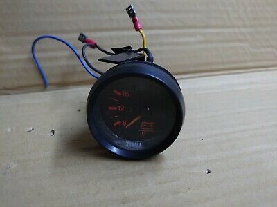AU48.37 • Buy Yamaha Outboard Analogue Voltmeter Gauge All HP Battery Charging Level