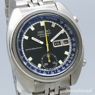 $ CDN1793.19 • Buy Seiko Single Chronograph 6139-6012 Vintage Day Date Automatic Mens Watch Works