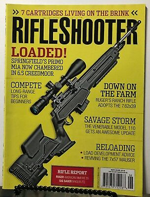 $11.97 • Buy Rifle Shooter Loaded Springfield Primo M1A May June 2018 FREE SHIPPING JB