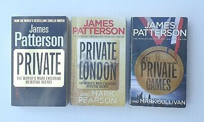 AU24.95 • Buy Lot Of 3 X James Patterson Paperback Books (Private Series) * FREE SHIPPING *