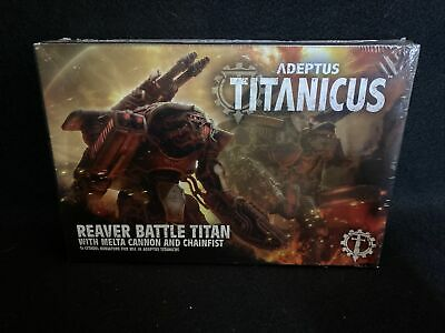 AU70.38 • Buy Warhammer 40k Adeptus Titanicus Reaver Titan W/Melta Cannon And Chainfist Sealed